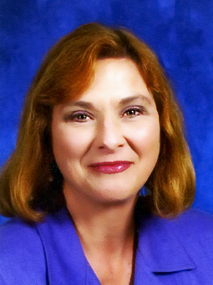 A portrait of THES Principal Lisa Robertson.